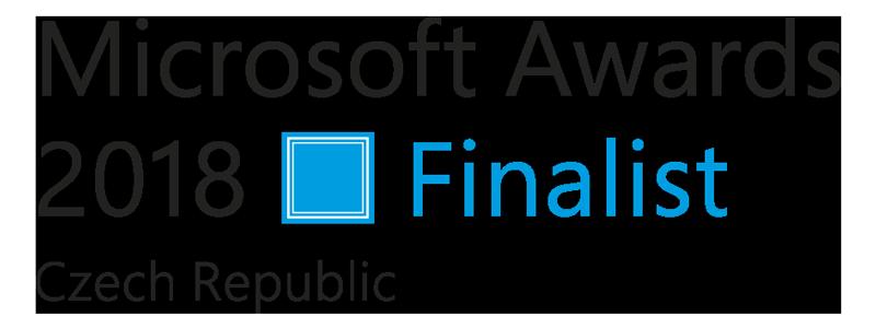 Logo Microsoft Awards 2018 Finalist