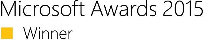 Logo Microsoft Awards 2015 Winner