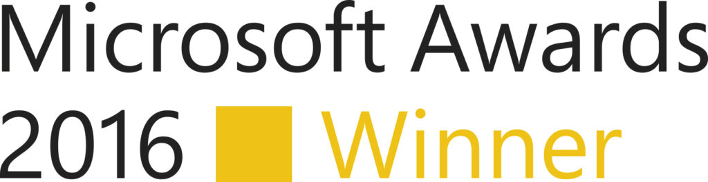 Logo Microsoft Awards 2016 Winner